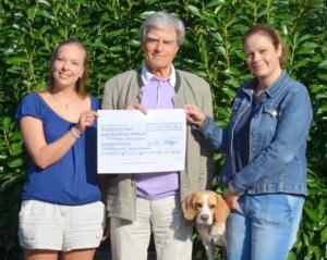 Spendenübergabe ans Tierheim Hannover